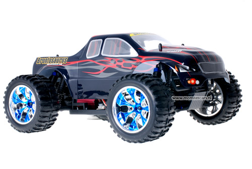 Himoto Brushless Truck Dracul Red 2.4GHz AANBIEDING!